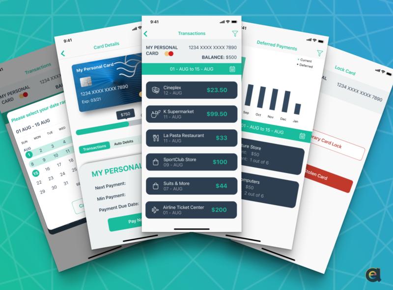 Mobile Banking CreditCard Module