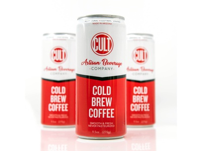 Cold Brew Cans beverage packaging