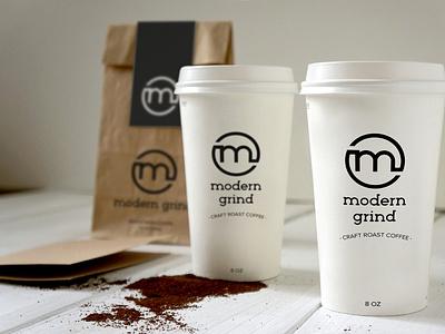 ModernGrind copy design packaging logo