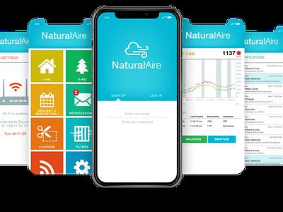 NA Header app ui