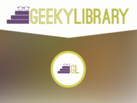Geeky Library Logo