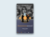 #dailyui #009 Music Player