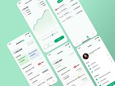 InvestKuy App sahamapp reksadanaapp reksadanauiux saham reksadana ux mobile app design uiuxdesign ui mobile ui mobile app