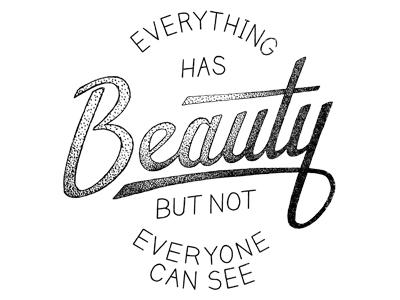 Beauty. See It.
