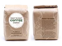 Roast To Coast - Branding/Packaging Exploration