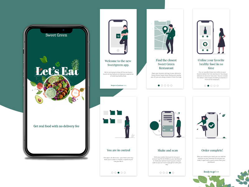 Food Delivery App Walkthrough food delivery app mobile ui