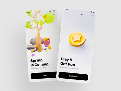 Low poly tree. Model for mobile game. trees concept low poly 3d 3d modeling 3d artist 3d getfun play sping star lowpoly3d lowpolyart low poly tree rewards app reward mobilegame coingame coin blender