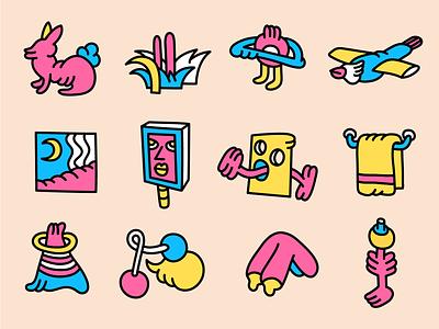 LITTLE DETAILS design editorial illustrations abstract abstract art illustration vector vector art character art editorial illustration