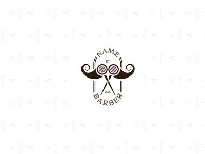 Barbershop Logotype Concept illustrator logo man logotype logomark logodesign design branding barbershop barber logo barber