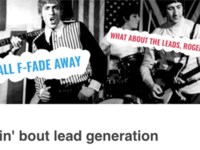 Talkin' bout lead generation