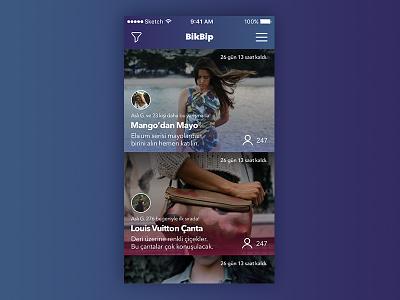Fashion app public dashboard ux ui application app screen home dashboard mobile