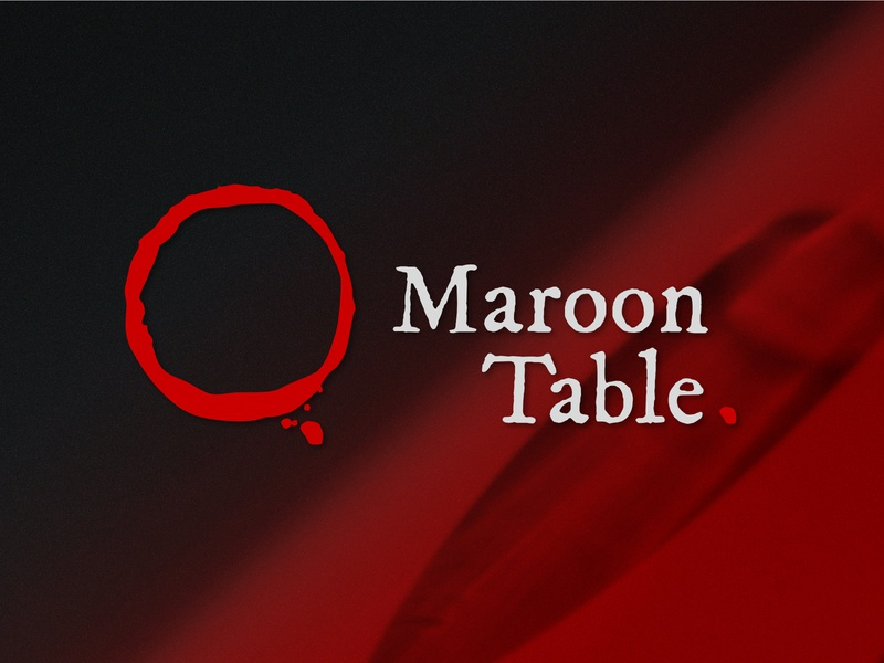 Maroon Table - logo design