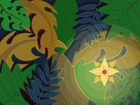 Dark illustration vector illustration vector shadow flower light and darkness night forest jungle darkness dark