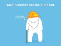 Old browser