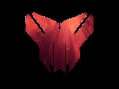 MT1K Logo galaxy shape logo