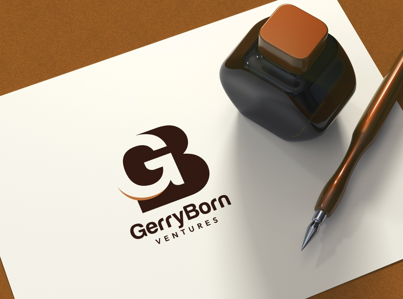 Gerryborn Ventures Logo Design vector design icon logo