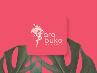 Arabuko Spa design icon logo