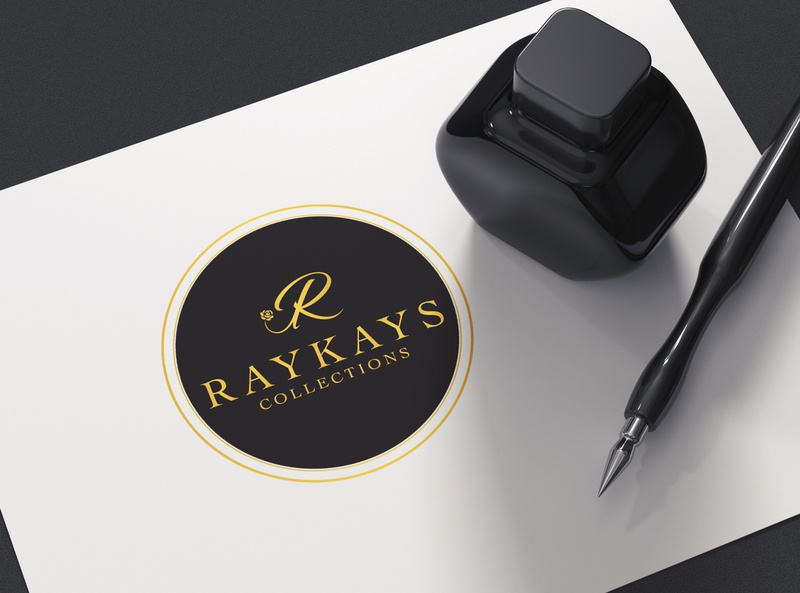 RAYKAYS Collection - Men's Fashion typography logo design
