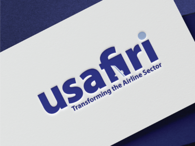 Usafiri Travel logo logo typography travel