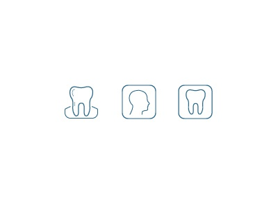 Dental Icons medical dental icons