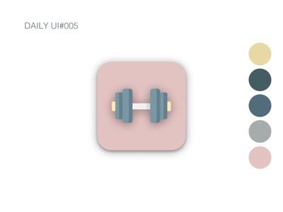 App Icon dailyui005 app figma design dailyui