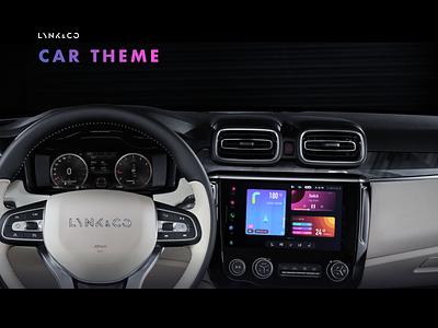LYNK - CAR THEME theme car theme car icon design ui