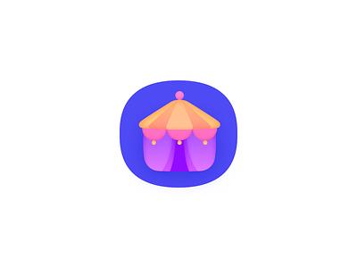 Carnival design icon