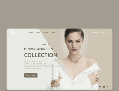web design jewellery figma slider slider design jewellery art web webdesign shop jewellery shop