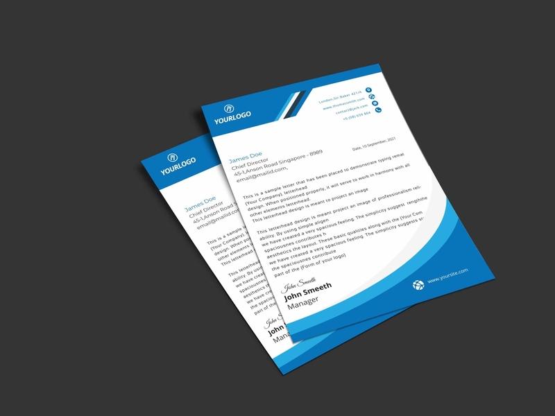 Letter head flyer type flat logo brainding minimal illustrator typography vector design branding illustration