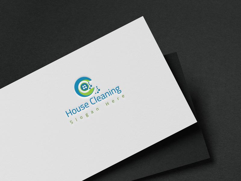 Clean logo design flat logo brainding minimal illustrator design vector typography illustration branding