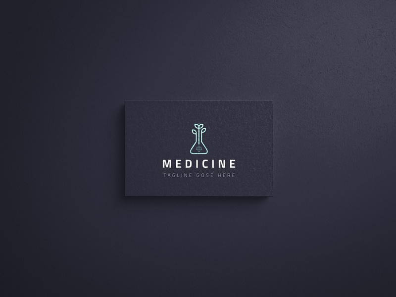 Logo design advance flat minimal logo brainding vector branding