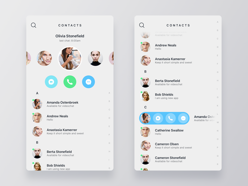 CTC recent telegram viber whatsapp call messenger contacts mobile app ios