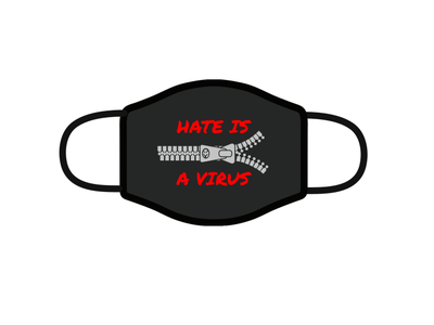 i was born here. // Design For Good Face Mask Challenge fight racism awesome merch covid19 face mask design for good playoff