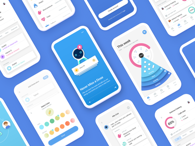 Pillo healthcare app redesign 4x