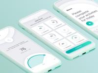 Healthcare App Trackers Design