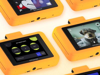 Polaroid Snap Touch Camera Screens