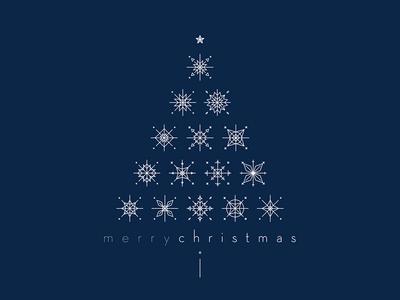 Merry Chri. graphic  design christmas tree tree xmas card xmas graphic illustration snowflake snow merry christmas merrychristmas line christmas card christmas