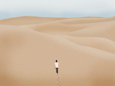 In desert african ux ui design ux dune sand dunes wind picture alone illust sahara africa desert sand castle sand beach vector ground design graphic illustration
