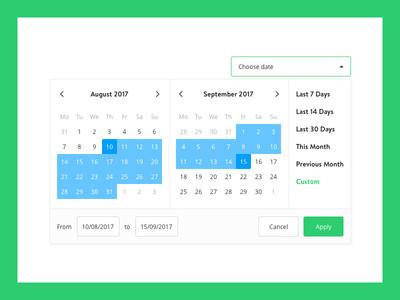 Datepicker select calendar datepicker picker date yieldr data analytics