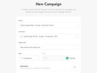 Campaign Creator/Editor