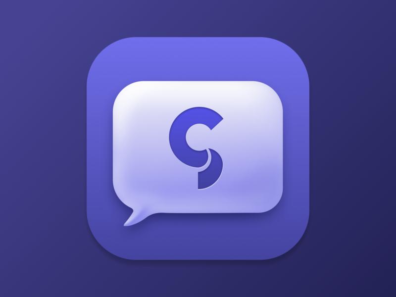 macOS Big Sur App Icon glucode design ui macos icon app icon big sur macos