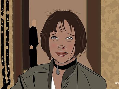 Natalie Portman - Mathilda (Leon The Professional) filmmaker leontheprofessional natalieportman illustration illustration digital digital illustration adobeillustrator artwork