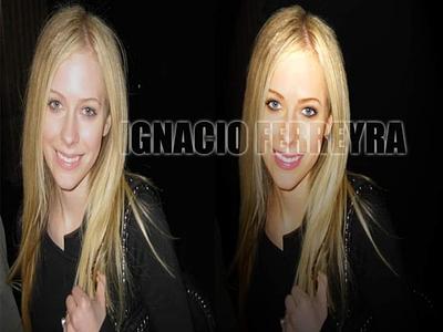 Avril Lavigne - Digital Retouching graphic design artwork adobe photoshop digital retouching