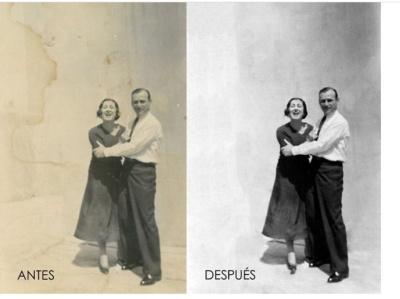 Digital retouching - Adobe Photoshop restoration oldpic adobe photoshop cc digital retouching adobe photoshop artwork