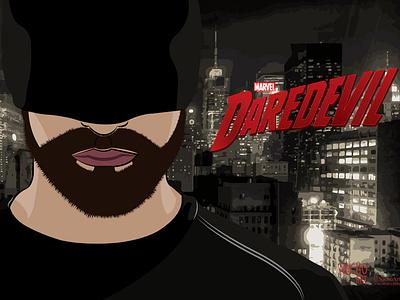 Daredevil daredevil netflix filmmaker design illustration illustration digital digital illustration adobeillustrator artwork