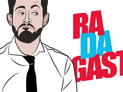 Radagast (Argentine comedian) illustration illustration digital digital illustration adobeillustrator artwork