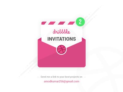 Dribbble 2 Invitations