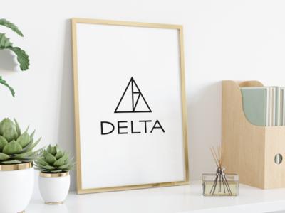 Delta logo design logotype minimal branding design brand identity brand design logo design logo graphic design design branding