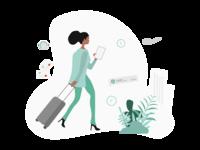 Working scenarios - Travelling consultant