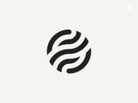 Logo: Letter O, Ball